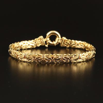 14K Byzantine Chain Bracelet
