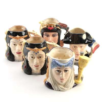 Royal Doulton Limited Edition The Star-Crossed Lovers Collection Character Jugs