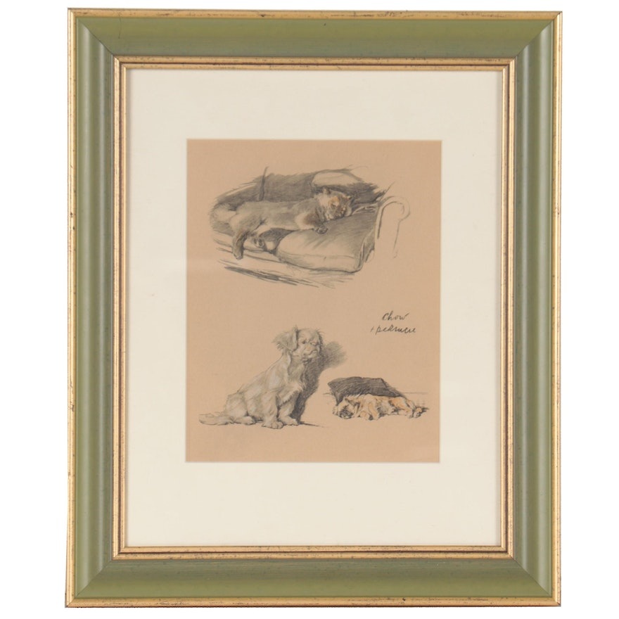 Lithograph After Cecil Charles Windsor Aldin, Mid-20th Century