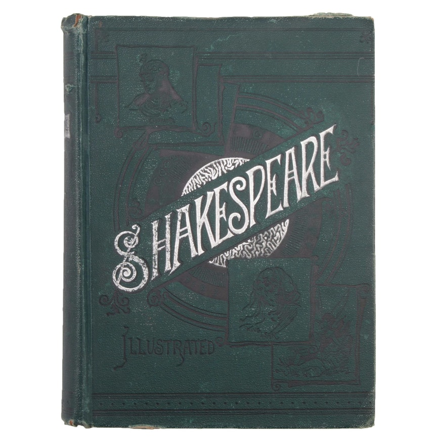 """Illustrated """"The Most Popular Dramas of Shakespeare"""" Art Edition, 1890"""