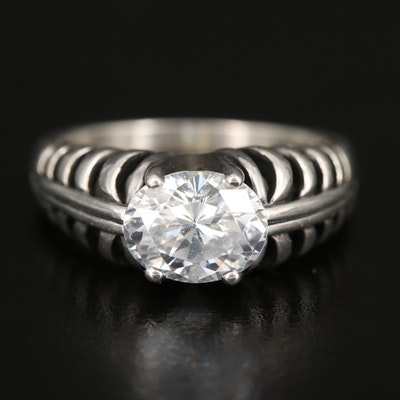 Kabana Sterling Cubic Zirconia Ring