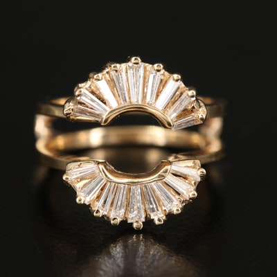 14K 1.04 CTW Diamond Ring Enhancer