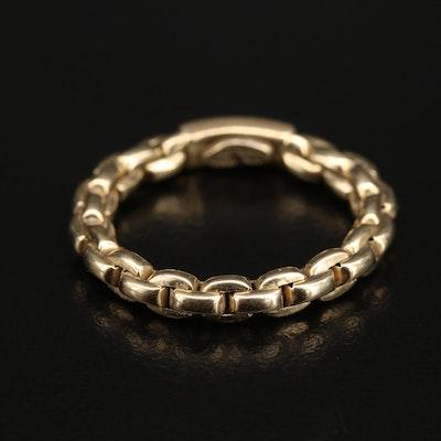 Italian 14K Chain Link Ring