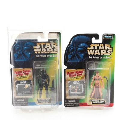 """Kenner """"Star Wars"""" """"The Power of the Force"""" Sealed Action Figures, 1997"""