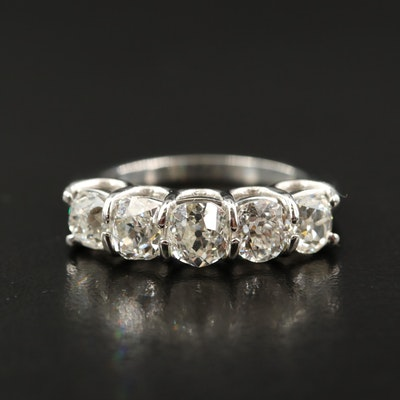 Platinum 2.95 CTW Diamond Band