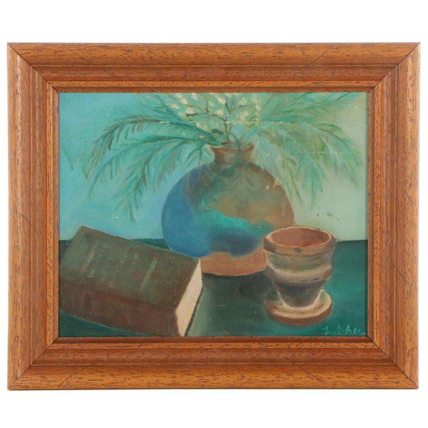Still Life Oil Painting, 1976
