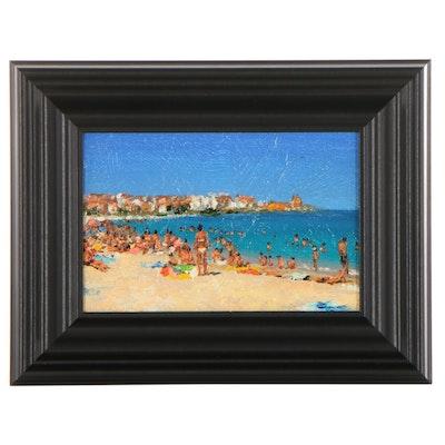 """Victor Arseni Oil Painting """"Sea,"""" 2021"""