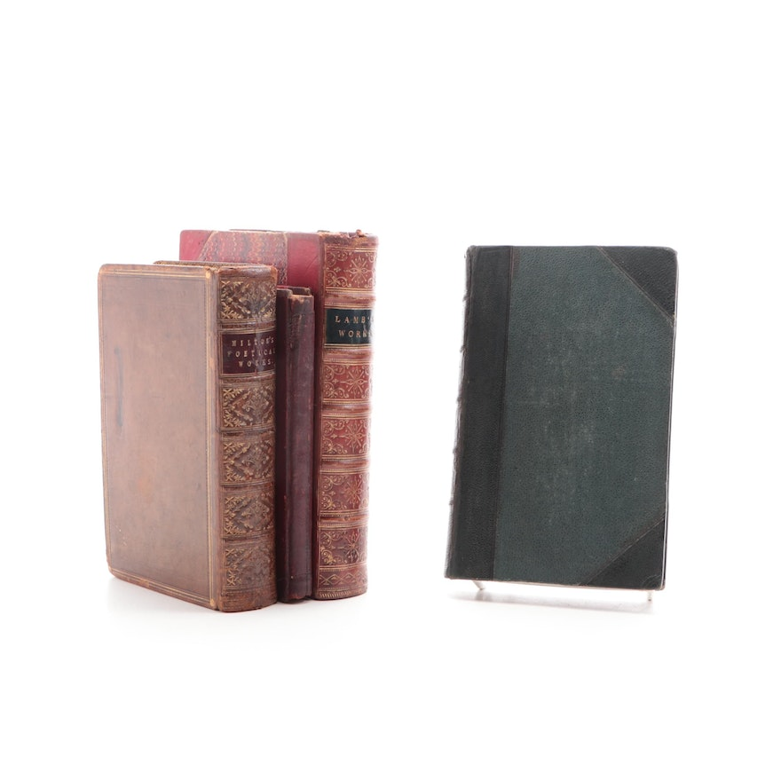 """""""The Prose Works of Charles Lamb"""" Vol. III and More, 19th Century"""