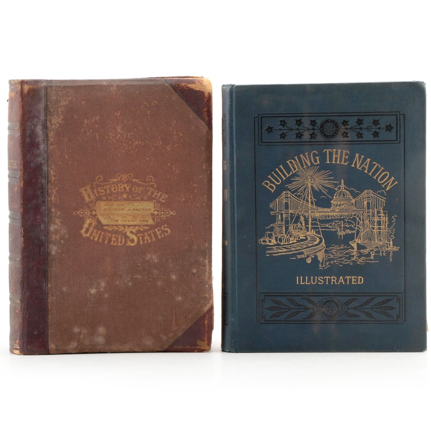 """""""A Popular History of the United States of America"""" and More, Late 19th Century"""