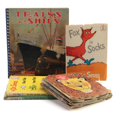 """""""Fox in Socks"""" by Dr. Seuss and More Children's Books, Mid to Late 20th Century"""