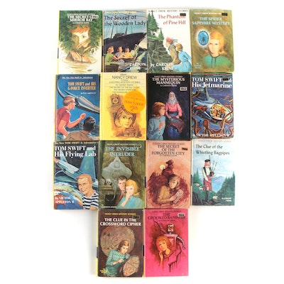 """""""Nancy Drew"""" and """"Tom Swift"""" Book Collection, Mid to Late 20th Century"""
