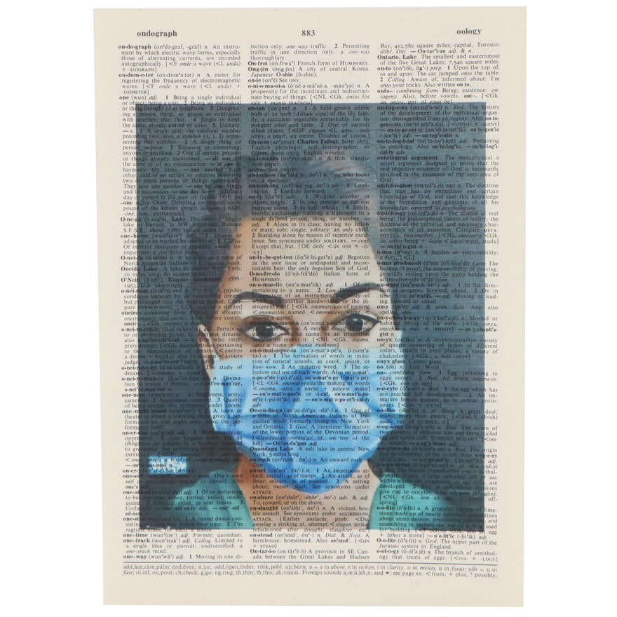 Grant Rosen and Micha Ruechenhoff Pop Art Giclée of Nurse, 21st Century