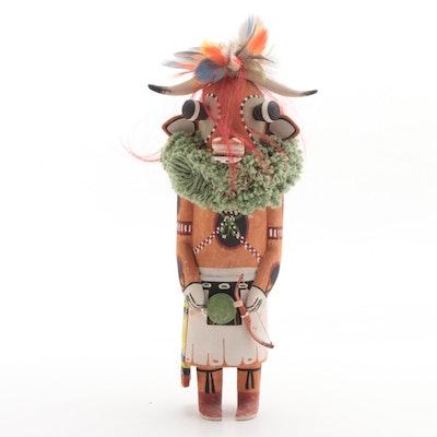 Native American Hopi Tribe Wakasi Figural, 20th Century