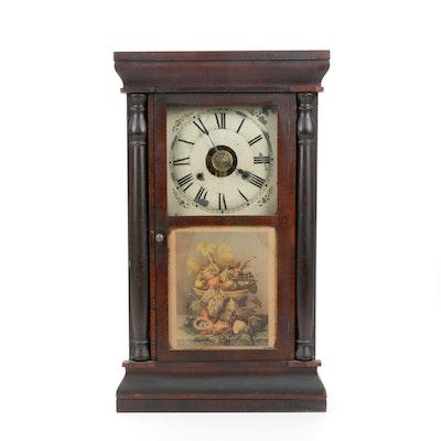 Seth Thomas Ogee Shelf Clock, Circa 1870