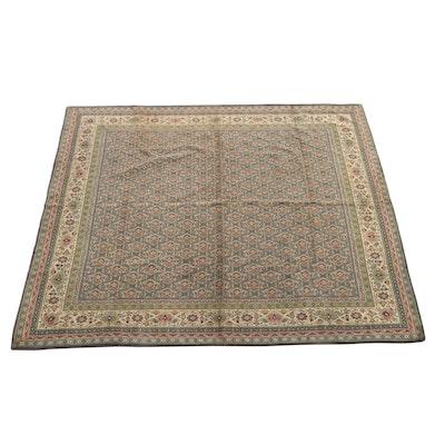 5'5 x 5'5 Machine Woven Persian Style Chenille Area Rug