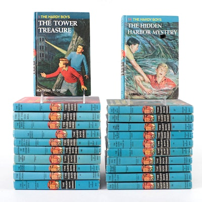 """""""Hardy Boys"""" Mystery Book Collection, Mid to Late 20th Century"""