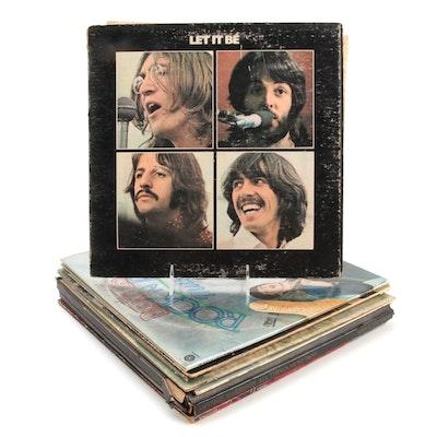 The Beatles, John Lennon, George Harrison, Ringo Starr Vinyl LP Records