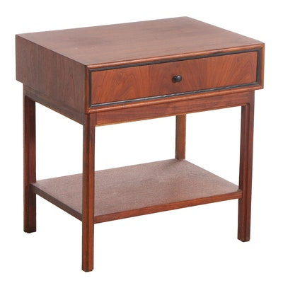 Mid Century Modern Rosewood Beside Table