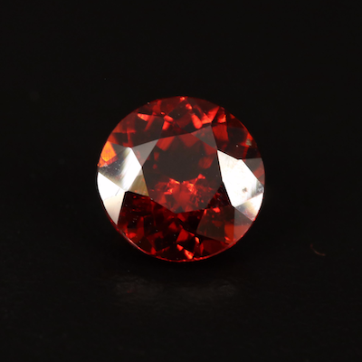 Loose 3.65 CT Round Faceted Garnet