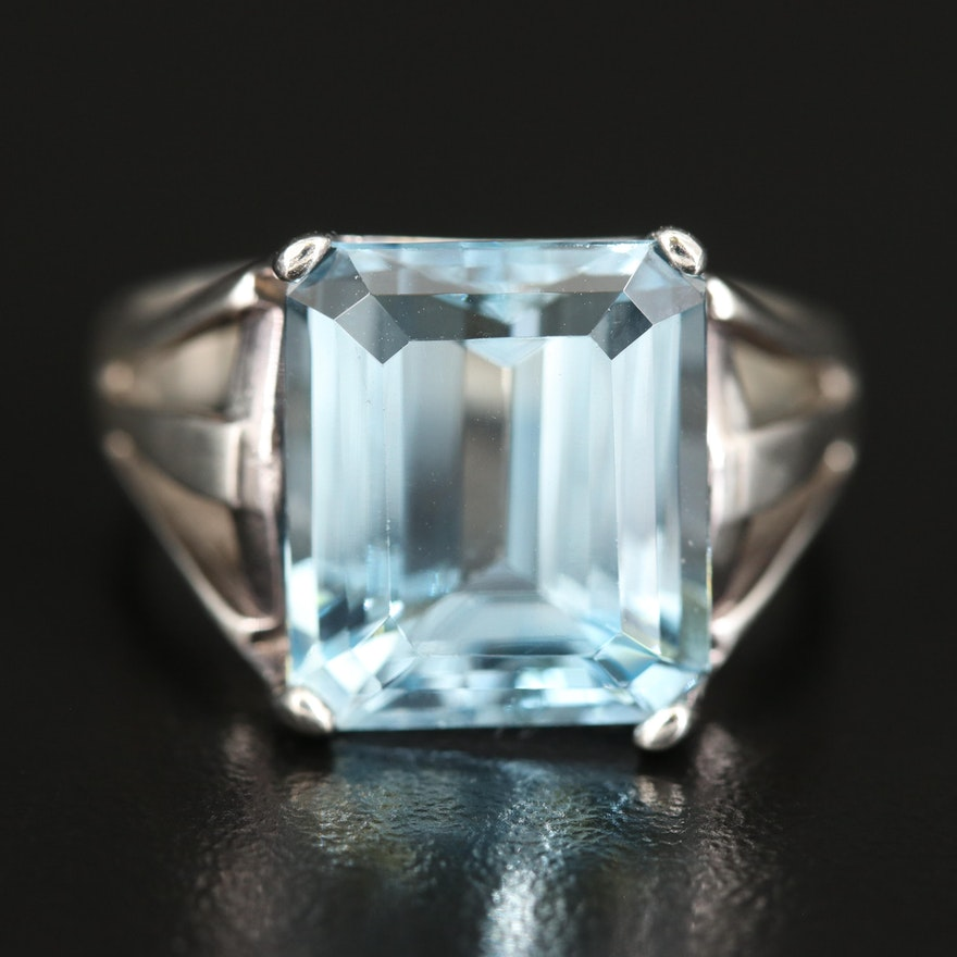 Sterling Sky Blue Topaz Ring