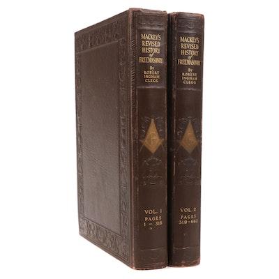 """Mackey's Revised History of Freemasonry"" by Robert Ingham Clegg, 1921"