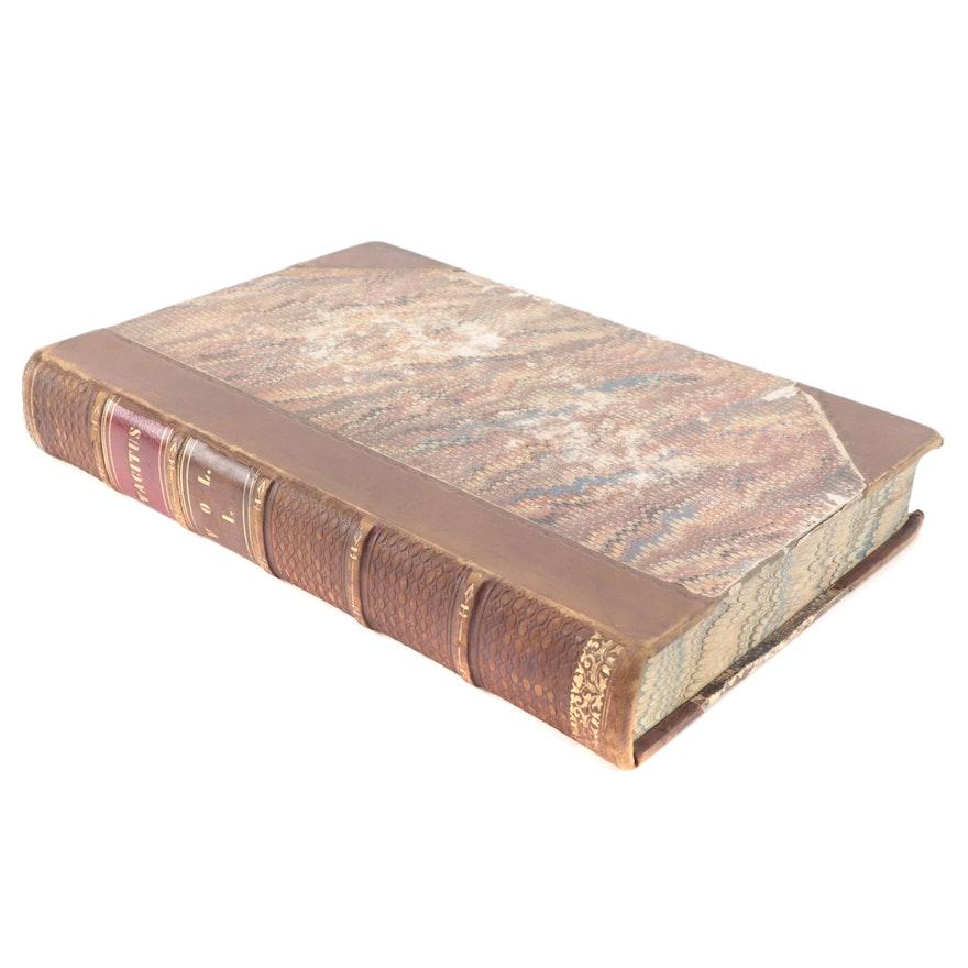 """Latin """"The Works of Tacitus"""" Vol. I, 1846"""
