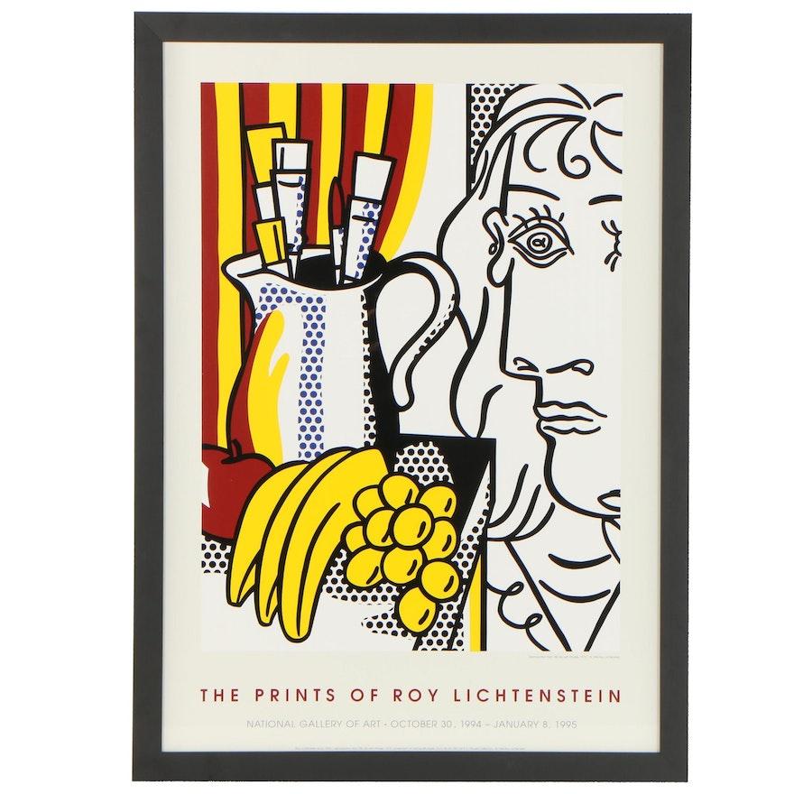 National Gallery of Art Exhibition Poster After Roy Lichtenstein, 1994