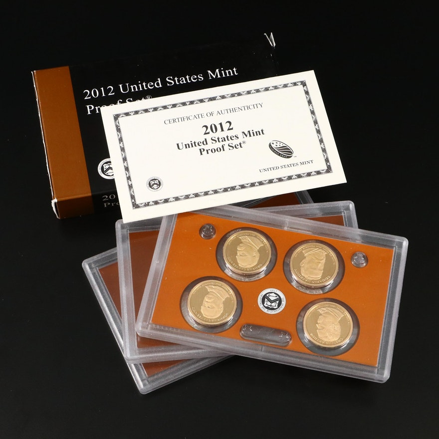 Key Date 2012 U.S. Mint Proof Coin Set