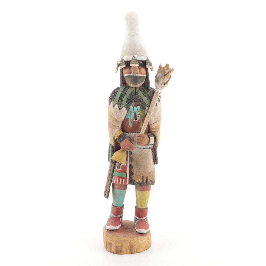 "Handcrafted ""Kwanitaqa"" Hopi Kachina Doll"
