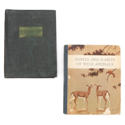 """Nature Magazines and""""Homes and Habbits Of Wild Animals"""" by Karl P. Schmidt"""