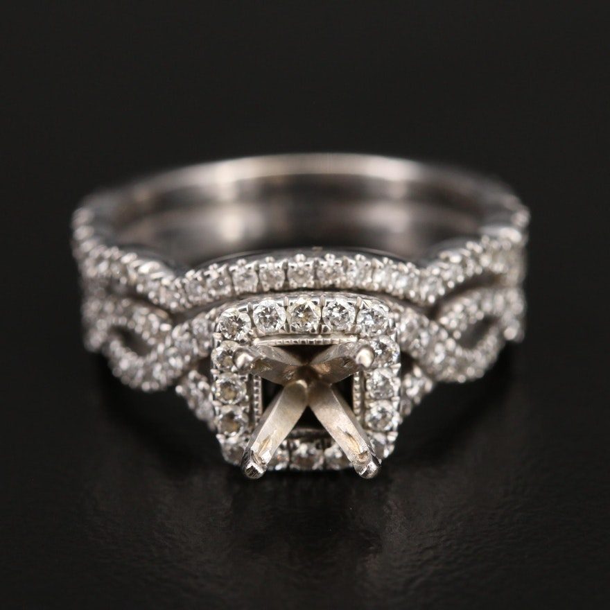 Neil Lane 14K Semi-Mount Diamond Ring
