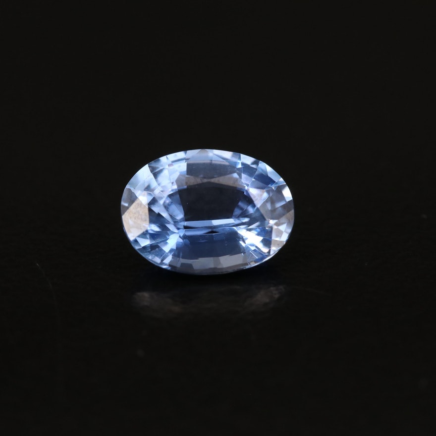 Loose 1.97 CT Oval Faceted Sapphire