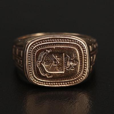 1961 10K Class Ring