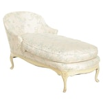 Louis XV Style Chaise Lounge Chair, Early to Mid 20th Century