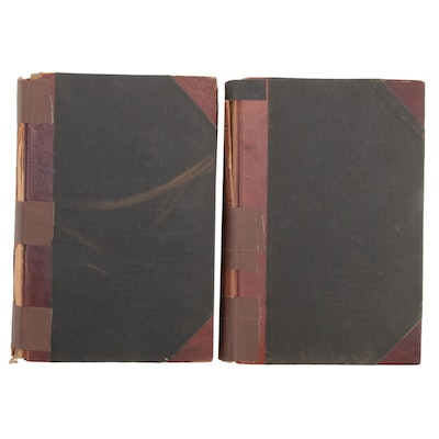 """""""Historical Collections of Ohio"""" Two-Volume Set by Henry Howe, 1902"""