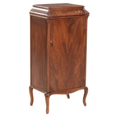 Mahogany Music Cabinet, Early to Mid 20th Century