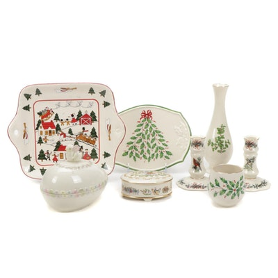 Lenox and Mason's Christmas and Other Table Accessories