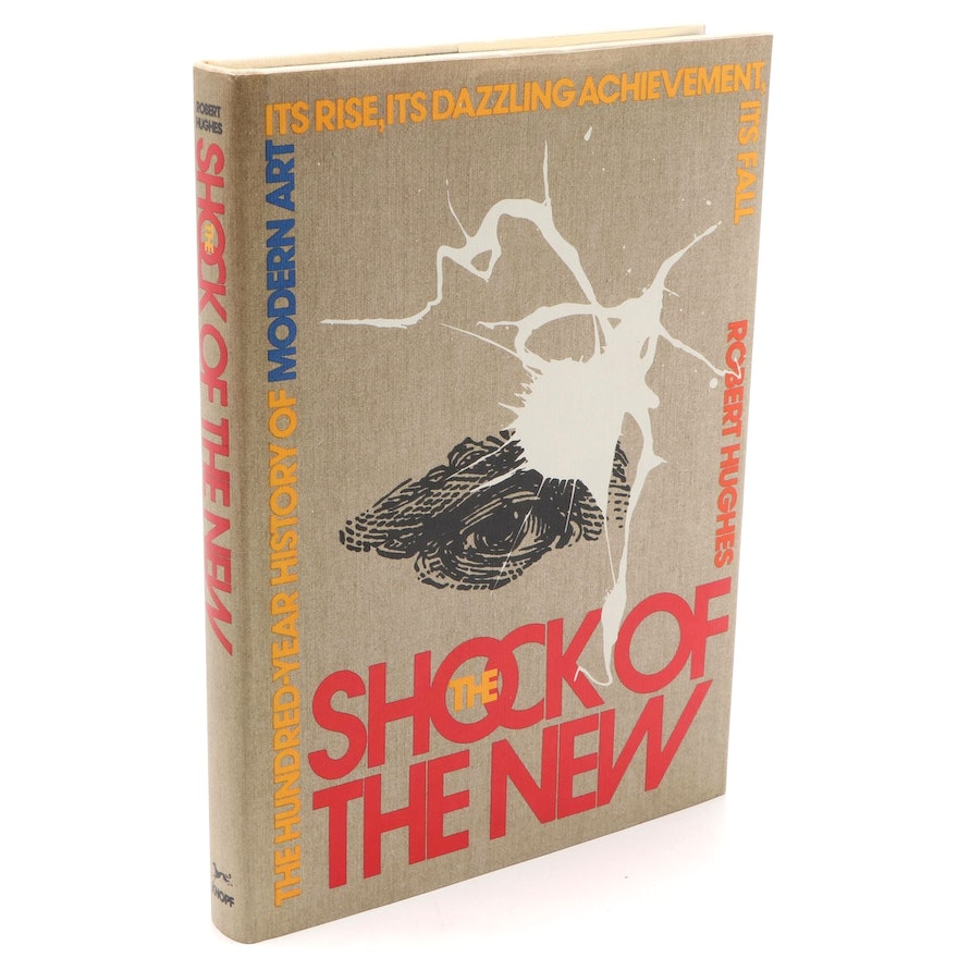 """First American Edition """"The Shock of the New"""" by Robert Hughes, 1980"""