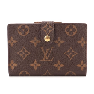 Louis Vuitton Porte-Monnaie Billets Viennois Wallet in Monogram Canvas