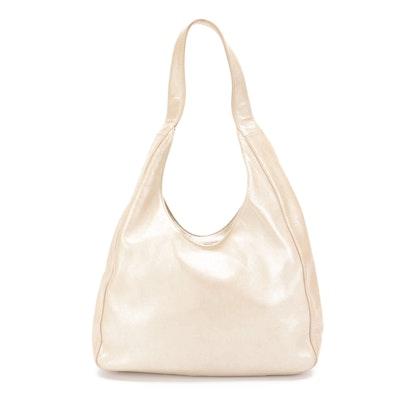 Prada Shoulder Bag in Metallic Sheen Leather
