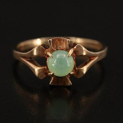Vintage 10K Star Sapphire Ring