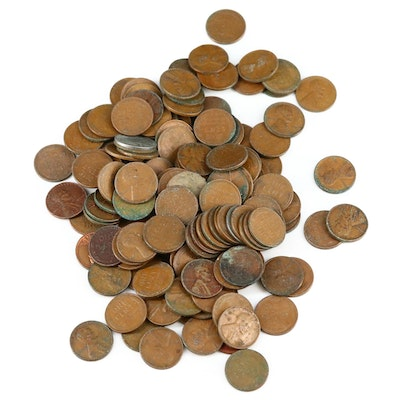149 Lincoln Wheat Cents