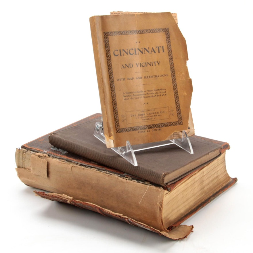 """""""Centennial History of Cincinnati"""" and More, Mid-19th to Early 20th Century"""
