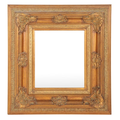 Victorian Style Giltwood Frame Wall Mirror, Mid to Late 20th Century