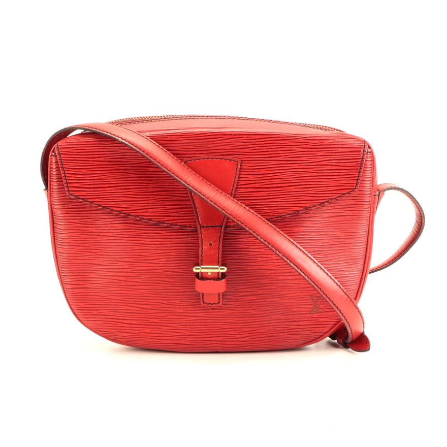 Louis Vuitton Jeune Fille PM in Castilian Red Epi and Smooth Leather