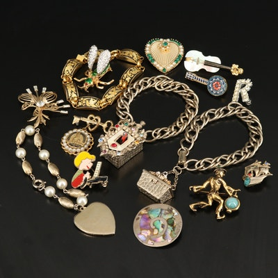 Vintage Jewelry Including Kenneth Jay Lane and Oleg Cassini