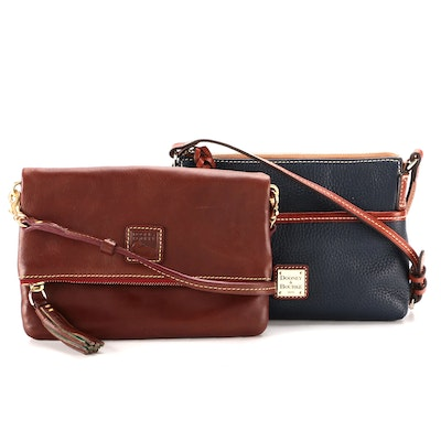 Dooney & Bourke Ginger Pouchette and Front Flap Crossbody Bags