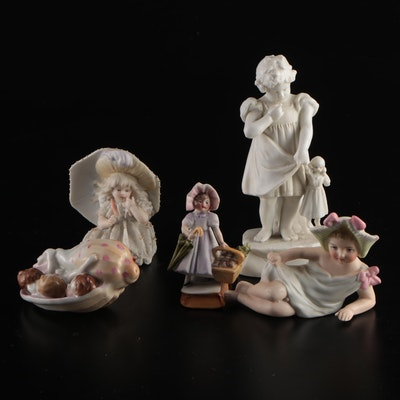 Ceramic Children  Figurines
