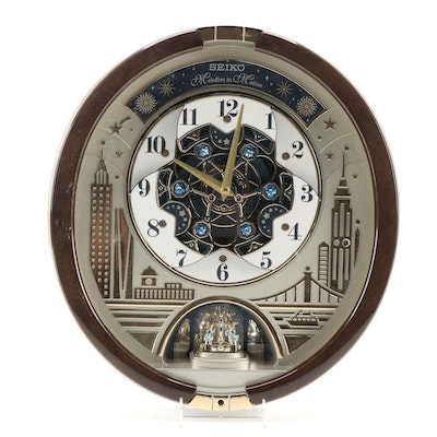 """Seiko """"Melodies in Motion"""" Musical Wall Clock"""