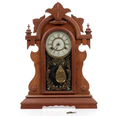 New Haven Clock Co. St. Jean & Frere Mantel Clock, 1899